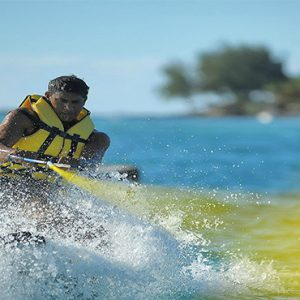 Canonnier Beachcomber Golf Resort And Spa Mauritius Luxury holiday Packages Water Skiing