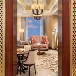 Luxury Dubai Holiday Packages Conrad Dubai Family Two Bedroom Suite1