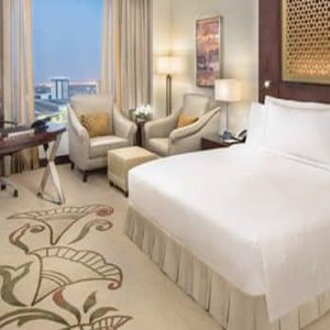 Luxury Dubai Holiday Packages Conrad Dubai King Deluxe Room Skyline View