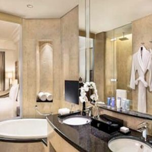 Luxury Dubai Holiday Packages Conrad Dubai King Deluxe Room Skyline View1