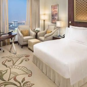 Luxury Dubai Holiday Packages Conrad Dubai King Deluxe Suite Lounge Access