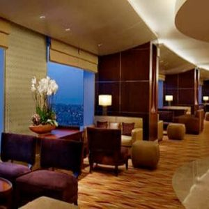 Luxury Dubai Holiday Packages Conrad Dubai King Deluxe Suite Lounge Access2
