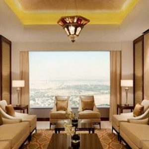 Luxury Dubai Holiday Packages Conrad Dubai Royal Suite Lounge Access4