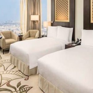 Luxury Dubai Holiday Packages Conrad Dubai Two Double Bed Deluxe Room Sea View