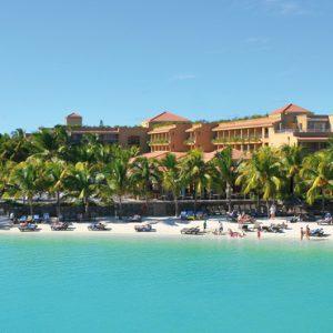 Exterior Closeup Mauricia Beachcomber Resort And Spa Luxury Mauritius Honeymoons