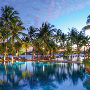 Pool 4 Mauricia Beachcomber Resort And Spa Luxury Mauritius Honeymoons