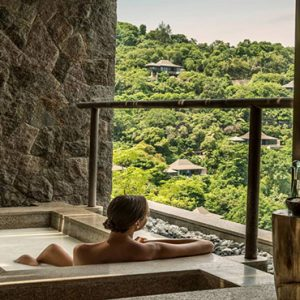 Four Seasons Resort Seychelles Luxury Seychelles holiday Packages Bathtub With A View