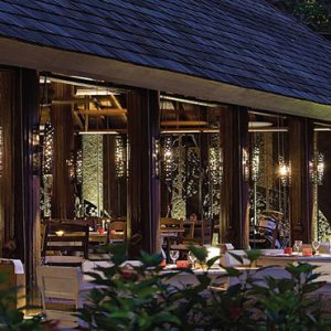 Four Seasons Resort Seychelles Luxury Seychelles holiday Packages Restaurant Exterior1
