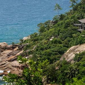 Four Seasons Resort Seychelles Luxury Seychelles holiday Packages Aerial View