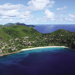 Four Seasons Resort Seychelles Luxury Seychelles holiday Packages Aerial View1