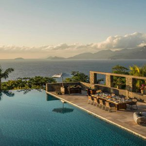 Four Seasons Resort Seychelles Luxury Seychelles holiday Packages Infinity Pool