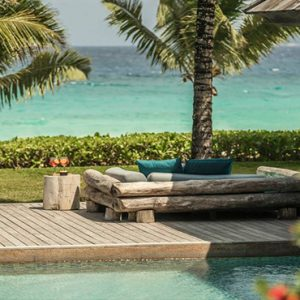 Four Seasons Resort Seychelles Luxury Seychelles holiday Packages Kannel Bar Pool Area