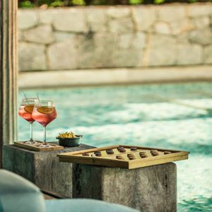 Four Seasons Resort Seychelles Luxury Seychelles holiday Packages Kannel Bar1