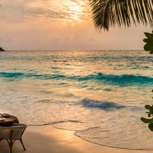 Four Seasons Resort Seychelles Luxury Seychelles holiday Packages Private Beach Dining