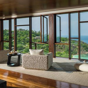 Four Seasons Resort Seychelles Luxury Seychelles holiday Packages Spa Lobby