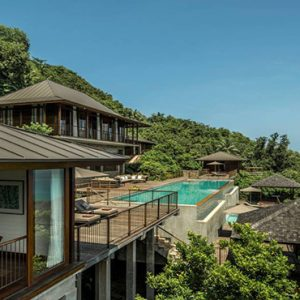 Four Seasons Resort Seychelles Luxury Seychelles holiday Packages Villa Exterior Overview1
