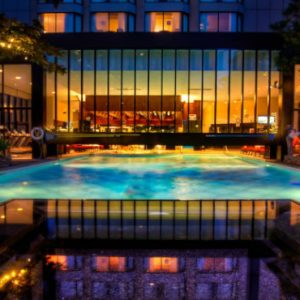 Luxury Canada Holiday Packages Four Seasons Vancouver Outdoor Pool