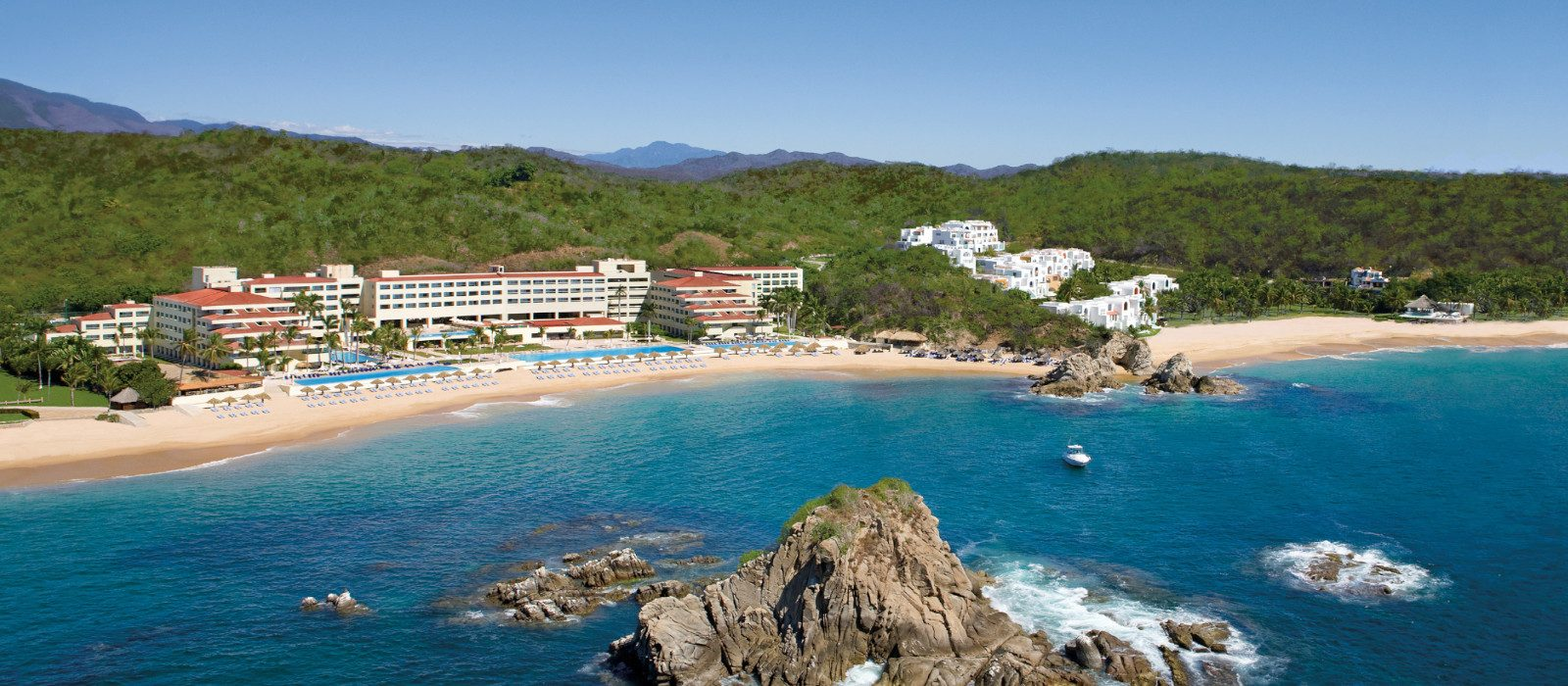Luxury Mexico Holiday Packages Dreams Huatulco Header