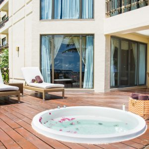 Luxury Mexico Holiday Packages Dreams Riviera Cancun Resort And Spa Mexico Preferred Club Ocean Front Governor Suite 4