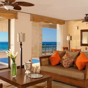 Luxury Mexico Holiday Packages Dreams Riviera Cancun Resort And Spa Mexico Preferred Club Ocean Front Presidential Suite 2