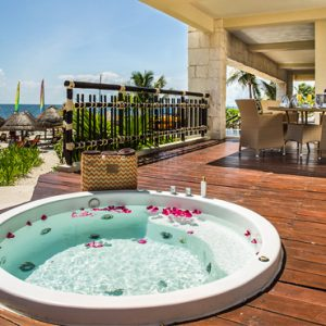 Luxury Mexico Holiday Packages Dreams Riviera Cancun Resort And Spa Mexico Preferred Club Ocean Front Presidential Suite 3