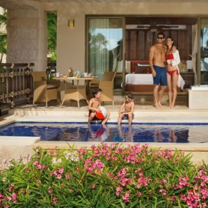 Luxury Mexico Holiday Packages Dreams Riviera Cancun Resort And Spa Mexico Preferred Club With Plunge Pool
