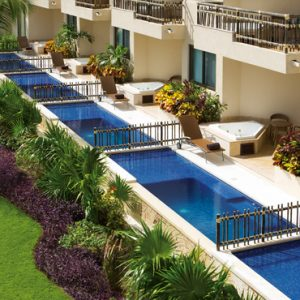Luxury Mexico Holiday Packages Dreams Riviera Cancun Resort And Spa Mexico Preferred Club With Plunge Pool 2
