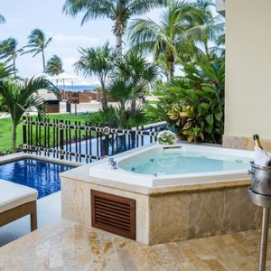Luxury Mexico Holiday Packages Dreams Riviera Cancun Resort And Spa Mexico Preferred Club With Plunge Pool 9