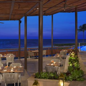 Luxury Mexico Holiday Packages Dreams Riviera Cancun Resort And Spa Mexico Seaside Grill