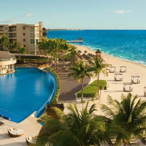 Luxury Mexico Holiday Packages Dreams Riviera Cancun Resort And Spa Mexico Beach