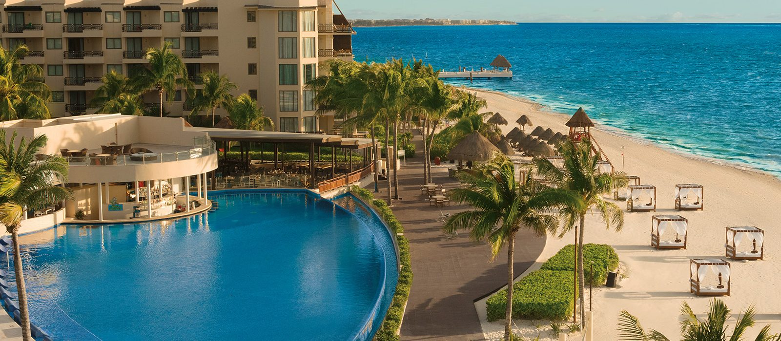 Luxury Mexico Holiday Packages Dreams Riviera Cancun Resort And Spa Mexico Header