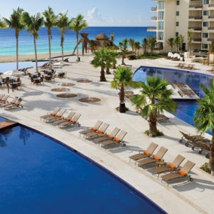 Luxury Mexico Holiday Packages Dreams Riviera Cancun Resort And Spa Mexico Pool