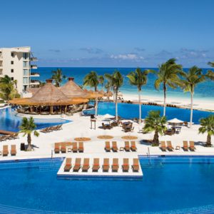 Luxury Mexico Holiday Packages Dreams Riviera Cancun Resort And Spa Mexico Pool 2
