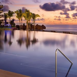 Luxury Mexico Holiday Packages Dreams Riviera Cancun Resort And Spa Mexico Sunset