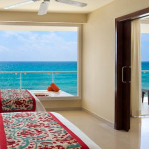 Luxury Mexico Holiday Packages Now Jade Riviera Cancun Preferred Club Suite Ocean Front View2