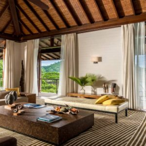 Luxury Seychelles Holiday Packages Four Seasons Seychelles Four Bedroom Residence Villa 1