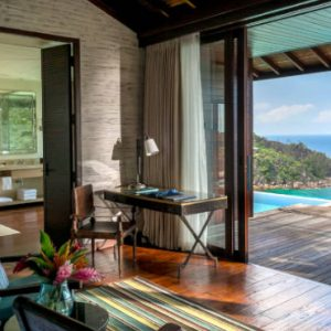 Luxury Seychelles Holiday Packages Four Seasons Seychelles Hilltop Ocean View Villa 1