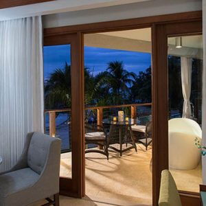 Beach Weddings Abroad Sandals Negril Caribbean Beachfront Grande Luxe Club Level Room W Balcony Tranquility Soaking Tub 5