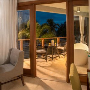 Beach Weddings Abroad Sandals Negril Caribbean Beachfront Grande Luxe Club Level Room W Balcony Tranquility Soaking Tub 6