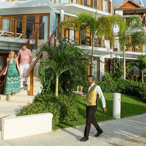 Beach Weddings Abroad Sandals Negril Honeymoon Beachfront Two Story One Bedroom Butler Villa Suite W Tranquility Soaking Tub 3