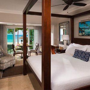 Beach Weddings Abroad Sandals Negril Paradise Honeymoon Beachfront Walkout Club Level Room