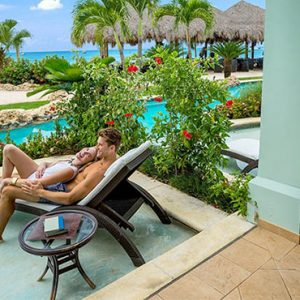Beach Weddings Abroad Sandals Negril Swim Up Crystal Lagoon Beachfront One Bedroom Butler Suite