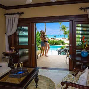 Beach Weddings Abroad Sandals Negril Swim Up Crystal Lagoon Beachfront One Bedroom Butler Suite 2