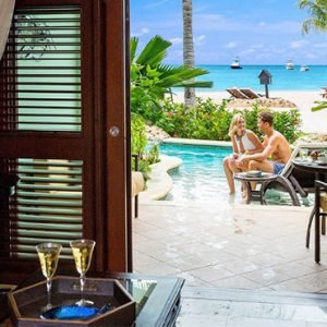 Beach Weddings Abroad Sandals Negril Swim Up Crystal Lagoon Beachfront One Bedroom Butler Suite 3