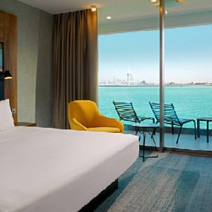 Luxury Dubai Holiday Packages Aloft Palm Jumeirah Dubai Aloft Seaview Room King