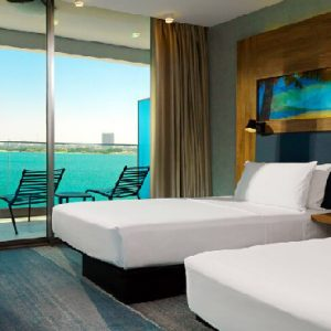 Luxury Dubai Holiday Packages Aloft Palm Jumeirah Dubai Aloft Seaview Room Twin