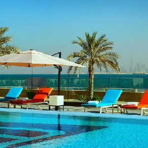 Luxury Dubai Holiday Packages Aloft Palm Jumeirah Dubai Pool
