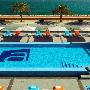 Luxury Dubai Holiday Packages Aloft Palm Jumeirah Dubai Pool1