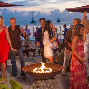 Luxury Jamaica Holiday Packages Sandals Negril Fire Pit 2