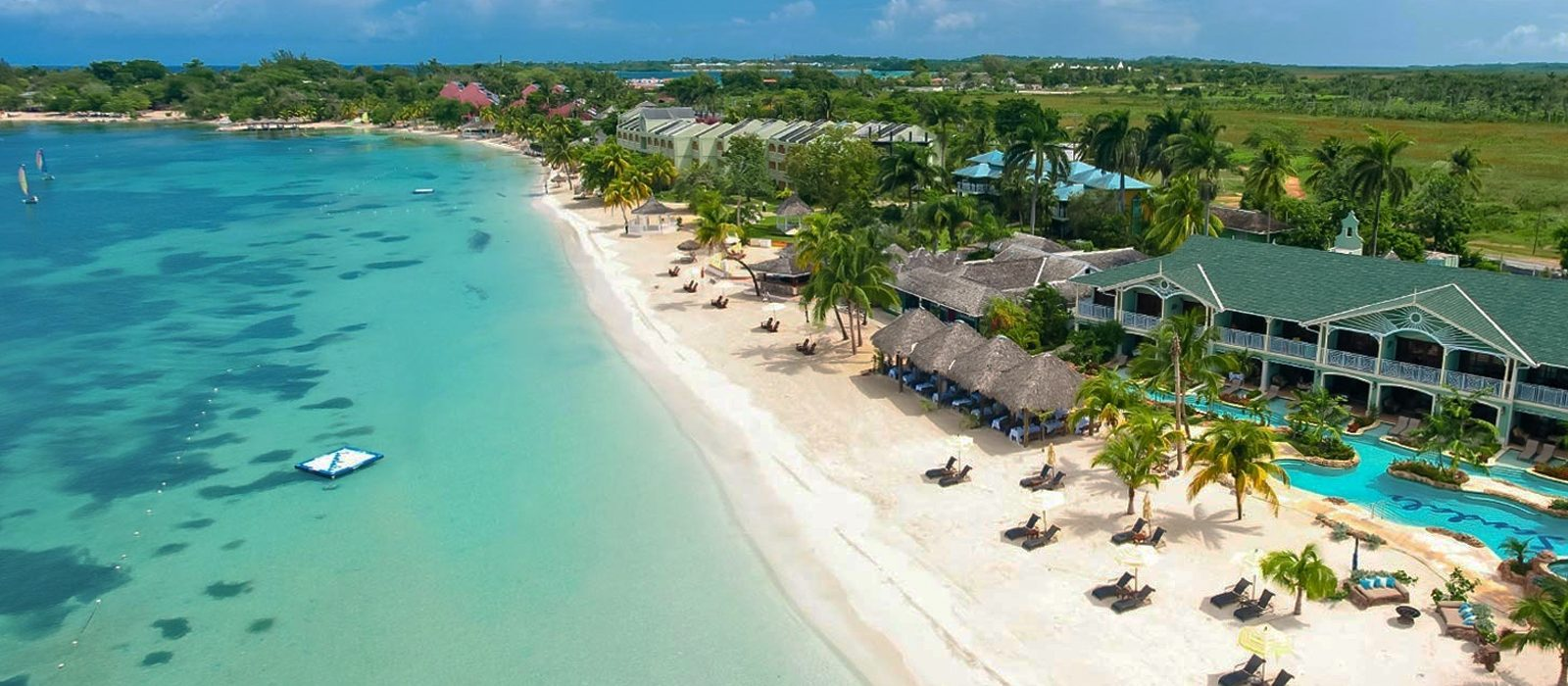 Luxury Jamaica Holiday Packages Sandals Negril Header